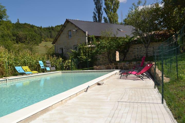 Grand Gite Sud Corrèze 19G5226 - Puy-d'Arnac - Casa