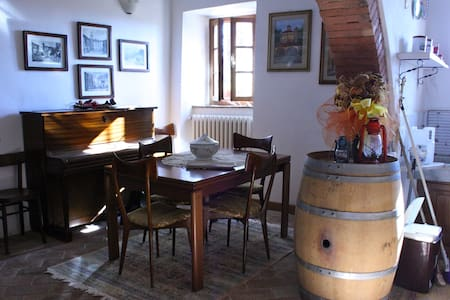Renovated winery on Tuscan hills - Casciana Alta