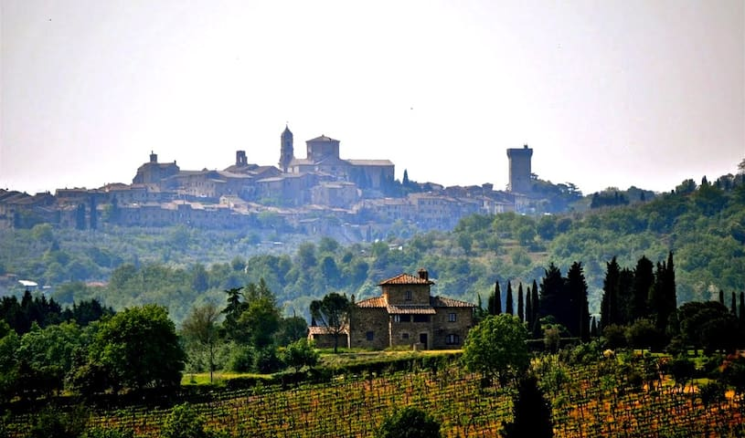 Tuscan holiday in the countryside - Lucignano - Haus