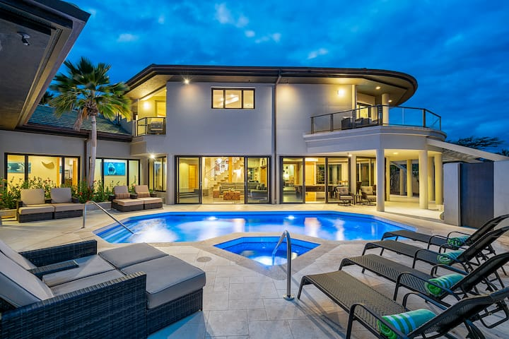 Blue Oasis - 5600 sq ft, 5 bd, 6 bath @ Mauna Lani