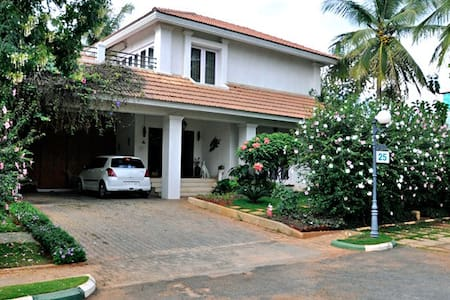 Long term Rental available in Villa - Bangalore - Vila