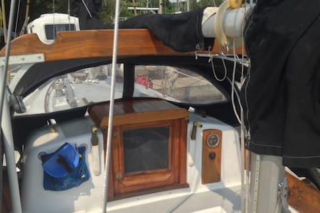 Classic Sailboat in Private Marina right in town! - Bayfield - Hajó