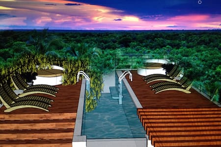 NEW LUXURY SKY SUITE, INFINITY POOL