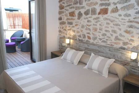 Hotel Can Mel Cas Concos - Cas Concos des Cavaller - Szoba reggelivel