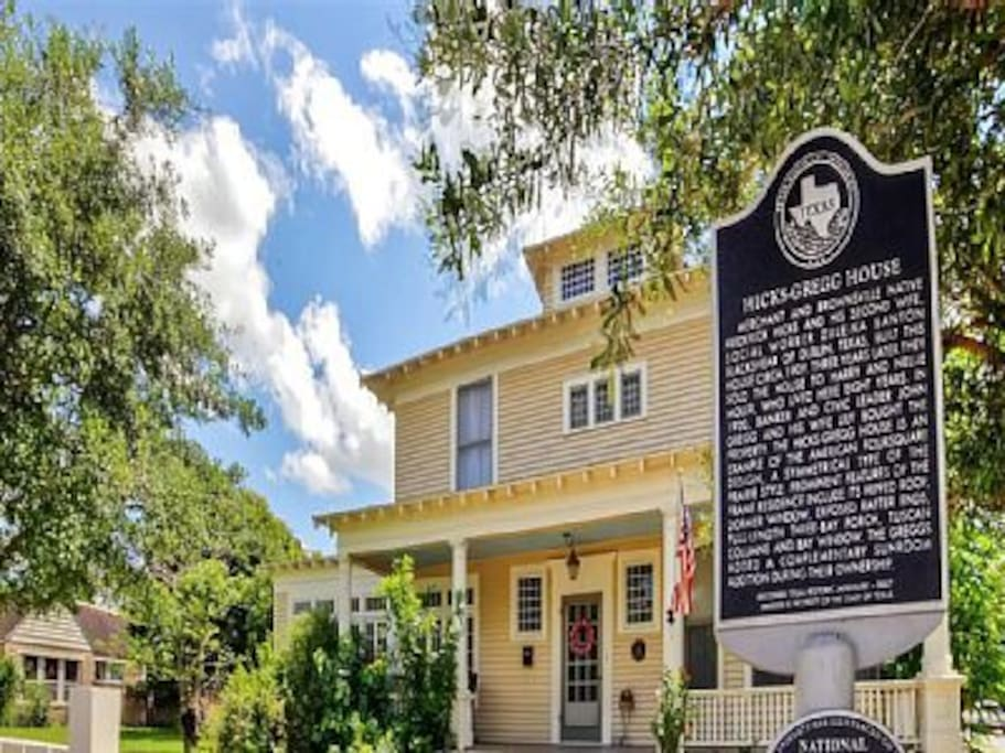 The home is listed in the National Register of Historic Places and is a Texas Historical Landmark.