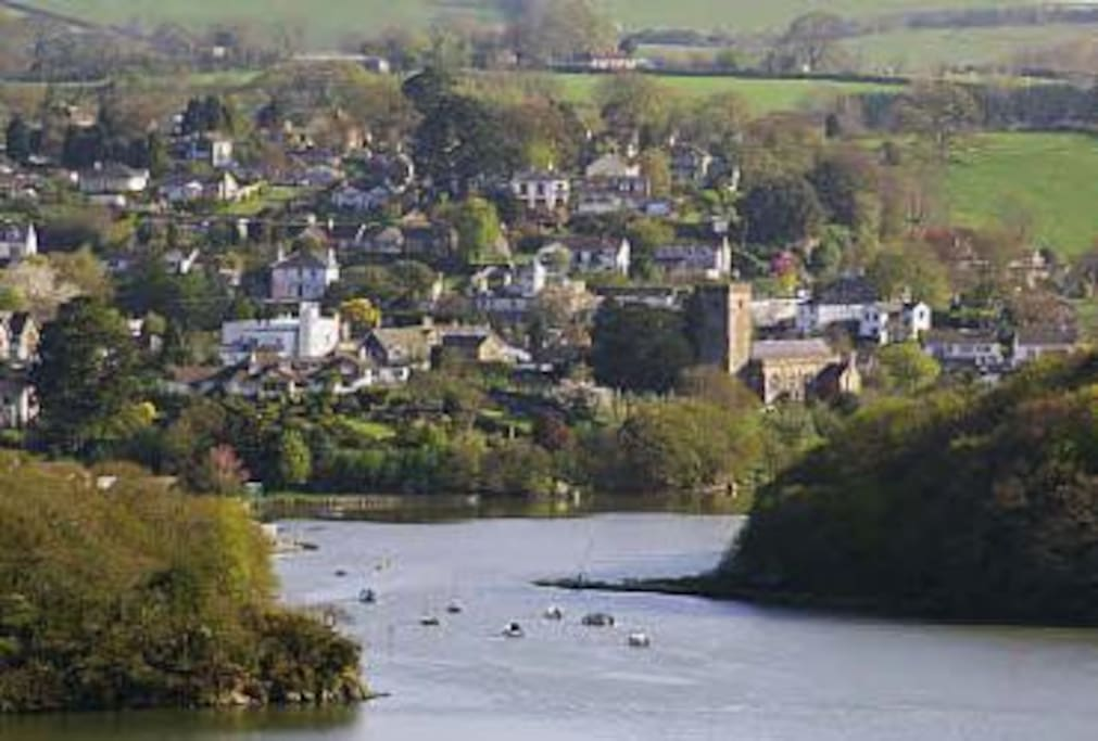 Stoke Gabriel from the River Dart