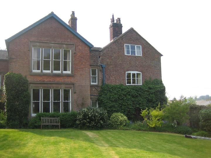Spacious Shropshire farm house.