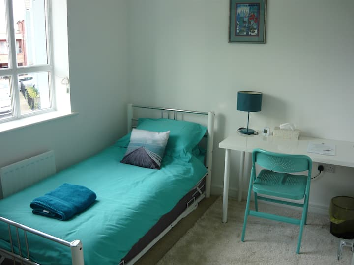 Single room or twin with en-suite
