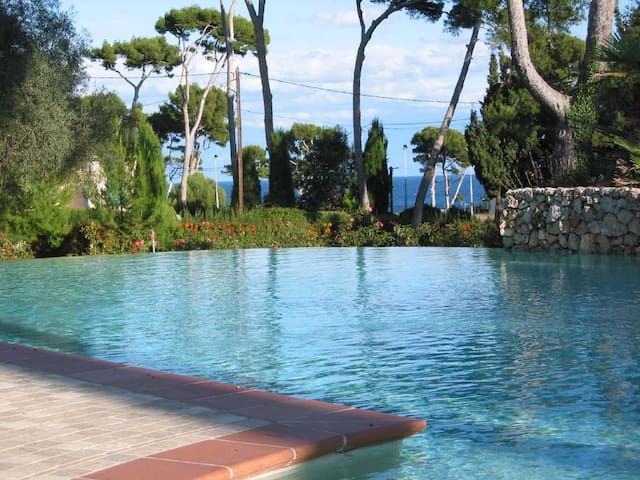 Cap d´Antibes 3 BR 2BA apt. Top location. - Antibes - Apartment