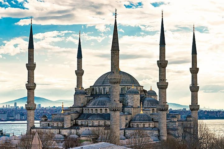 7 minutes walking distance from Blue Mosque