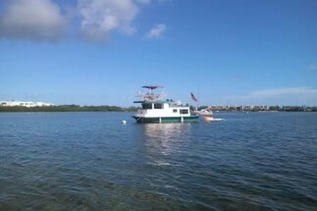 "HOUSEBOAT  ""FREE SPIRIT"" - Key West - Boat"