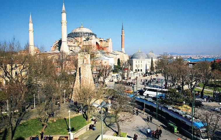 10 minutes walking distance from Sultanahmet Main Tram Station