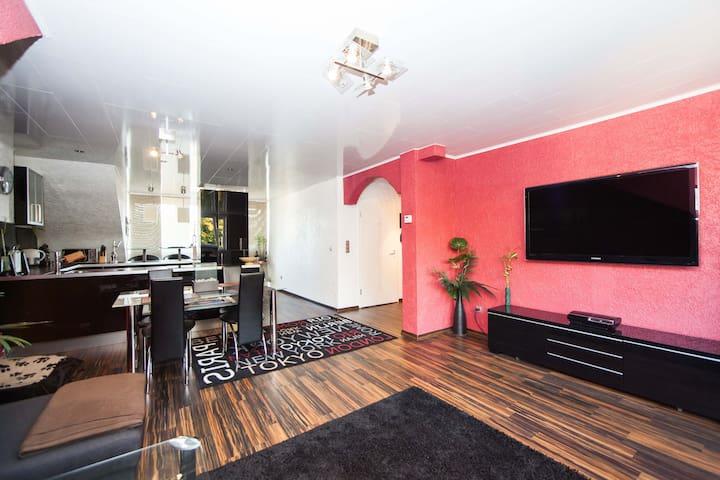 Schickes Apartment in Duisburg-Laar - Duisburg - Apartemen