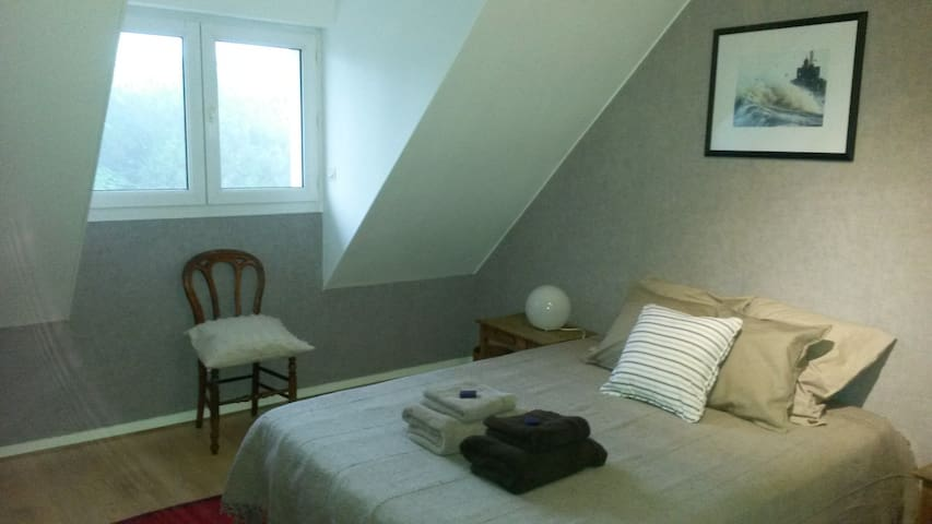 Bedroom & Lounge near Etretat - Octeville-sur-Mer - Rumah