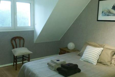 Bedroom & Lounge near Etretat - Octeville-sur-Mer - House