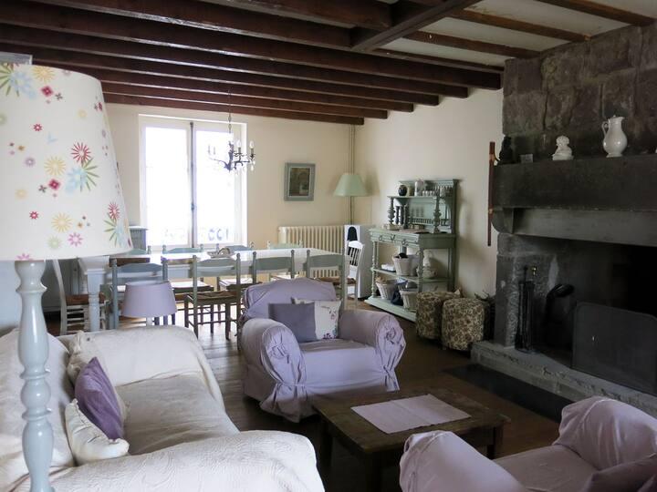 Maison de charme en Auvergne