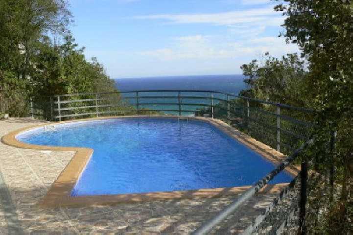 223 Detached house with private Pool - Sa Riera - Rumah