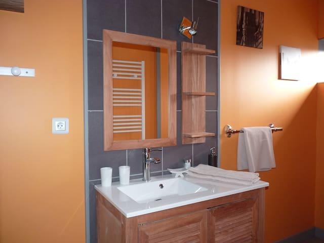 Gîte confortable, Avesnois, 2 pers - Sains-du-Nord - Ev