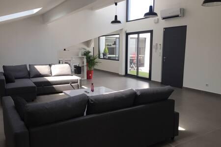 Luxury and spacious loft in Sanary - Sanary-sur-Mer