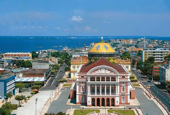 Quarto suite para casal - Manaus - Bed & Breakfast