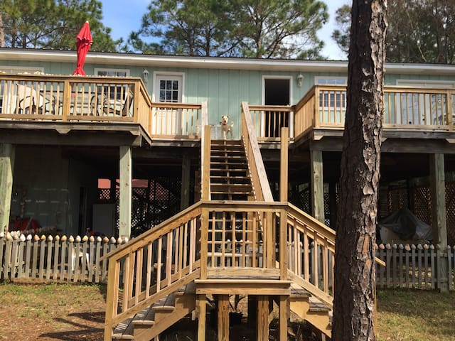 Indoor/outdoor living near beach - Dauphin Island - Lägenhet