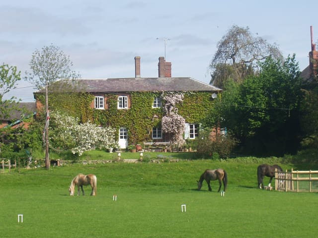 Lower Buckton House near Ludlow (sleeps ten)