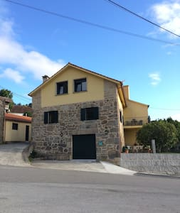Typical House in a Galician Village