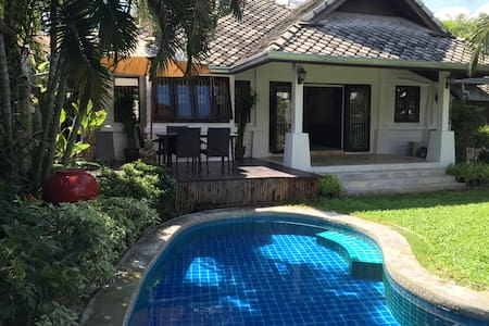 4 BED POOL VILLA 5 MIN CHAWENG