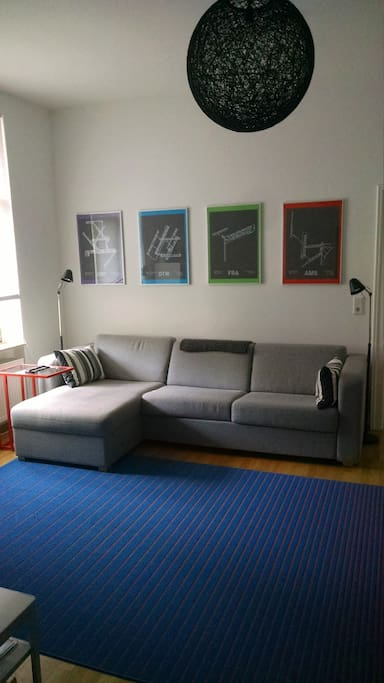 Living Room with pull out sofabed (2 ppl)