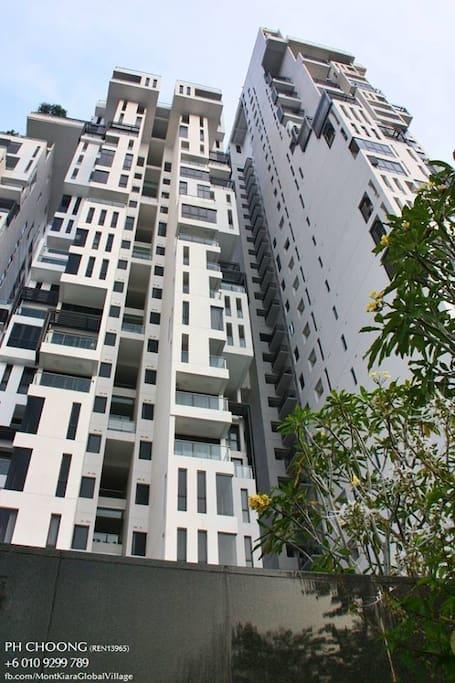 External building view