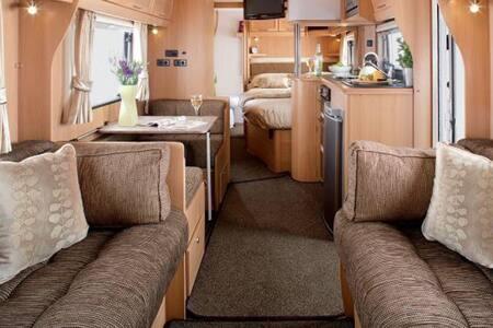 6 berth touring caravan - Saundersfoot