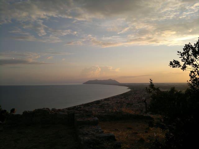 tramonto al Circeo