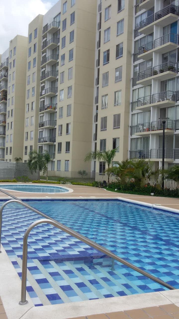 Apartamento con Hermosa vista en Palmira!