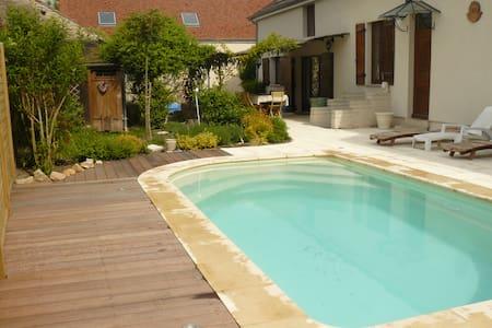 Chambres avec accès dir  piscine - Gilly-lès-Cîteaux