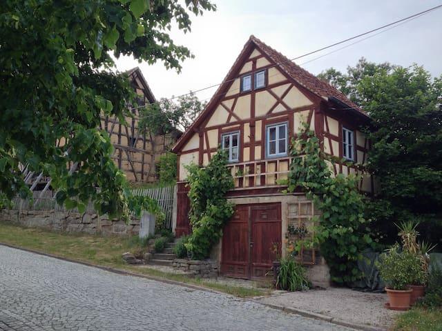 Hexhaus - Ferien & Studienhaus - Uhlstädt-Kirchhasel - House
