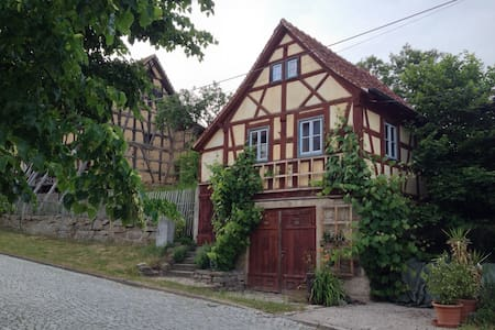 Hexhaus - Ferien & Studienhaus - Uhlstädt-Kirchhasel