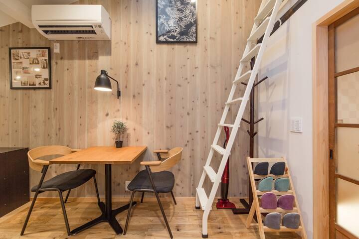 Kyoto&Kiyomizu 8min Cozy Quiet Arthouse