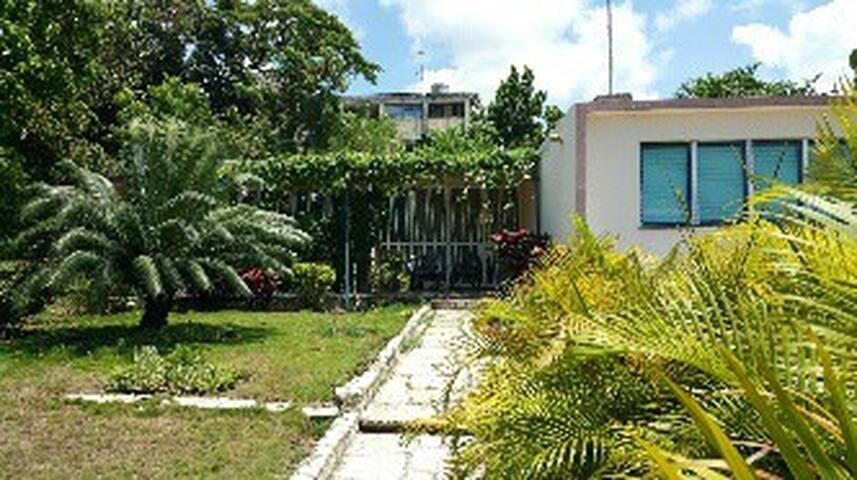 In front of San Juan Hotel - Room1