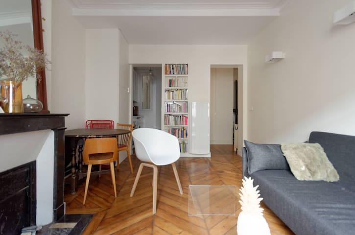 Cosy flat near Montmartre - Paris - Leilighet