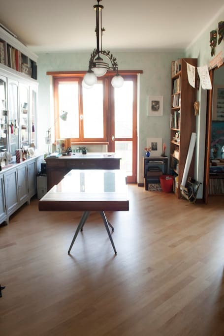 Studio-sala da pranzo