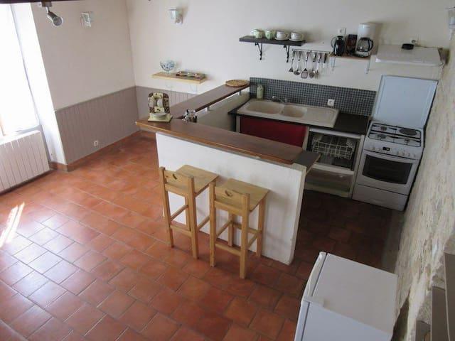 Agréable 80m² coeur marais poitevin - Coulon - Hus