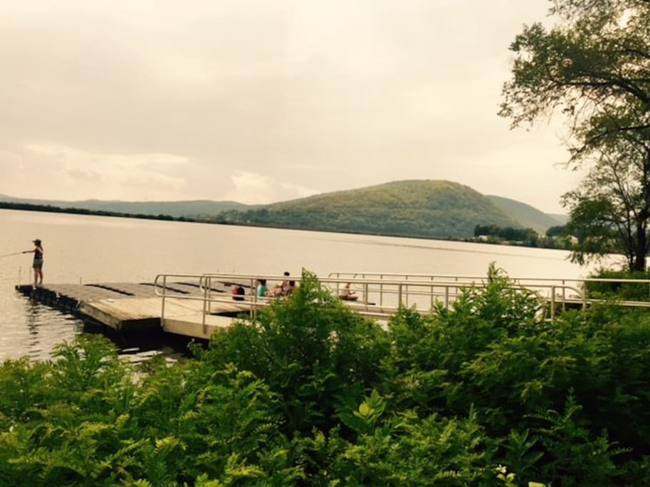 Go Fishing - and enjoy a day by the Hudson river