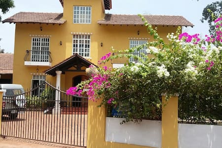 Stunning modern villa in North Goa