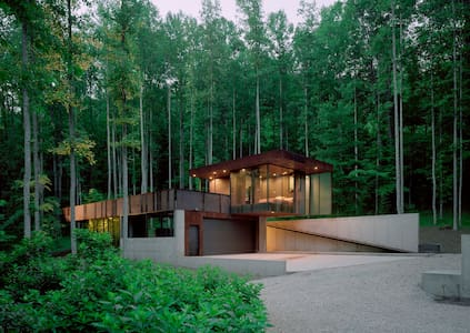 Tree House [modern] - Rabun Gap
