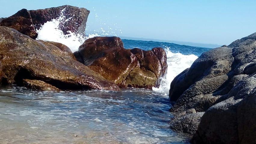 """""""CABAÑA EN  ISLA NEGRA"""" para 2 personas - Isla Negra - Cabin"""