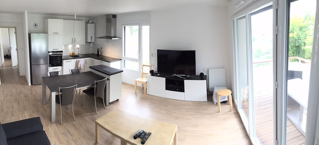 Logement agréable lumineux et calme - Le Rheu - Flat