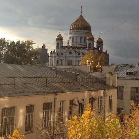 Apartment near Kremlin - Moskva - Lägenhet