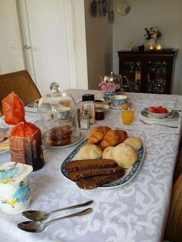 Chambre d'hôtes en Zélande village près de Goes - Nisse - Bed & Breakfast