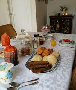 Chambre d'hôtes en Zélande campagne - Nisse - Inap sarapan
