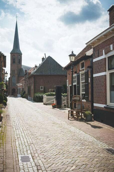 Straat beeld Kerkstraat